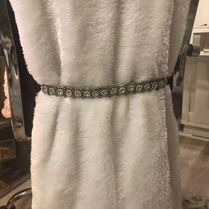 Embellished bridal belt